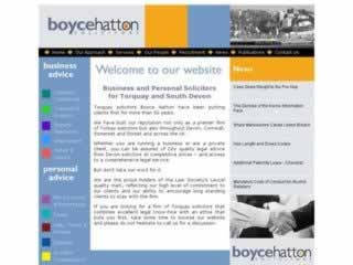 Boyce Hatton Torquay Solicitors