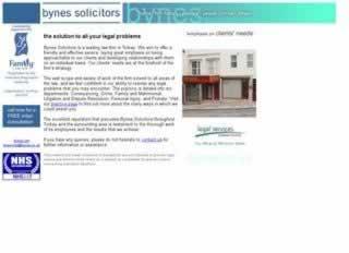 Torquay Solicitors Bynes Solicitors