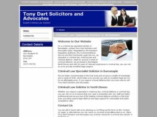 Tony Dart Solicitor & Advocate Barnstaple Solicitors