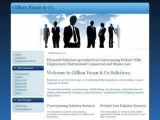 Torquay Solicitors Gillian Fazan & Co Solicitors