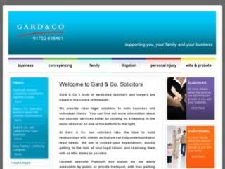 Plymouth Solicitors Gard & Co