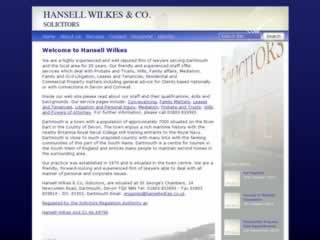 Dartmouth Solicitors Hansell Wilkes & Co