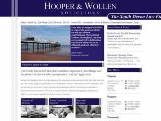 Paignton Solicitors Hooper & Wollen
