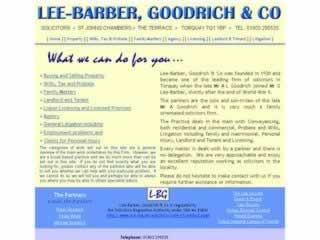 Lee-Barber Goodrich & Co Torquay Solicitors