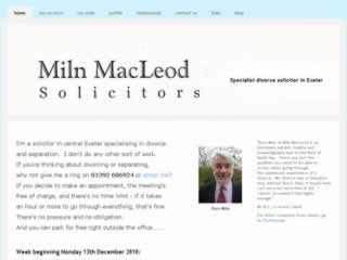 Exeter Solicitors Miln MacLeod Solicitors