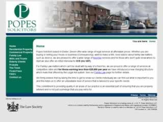 Exeter Solicitors Popes Solicitors