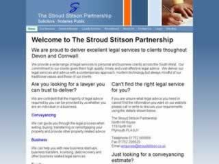 Plymouth Solicitors Stroud Stitson Partnership