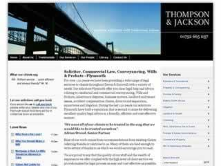 Plymouth Solicitors Thompson & Jackson
